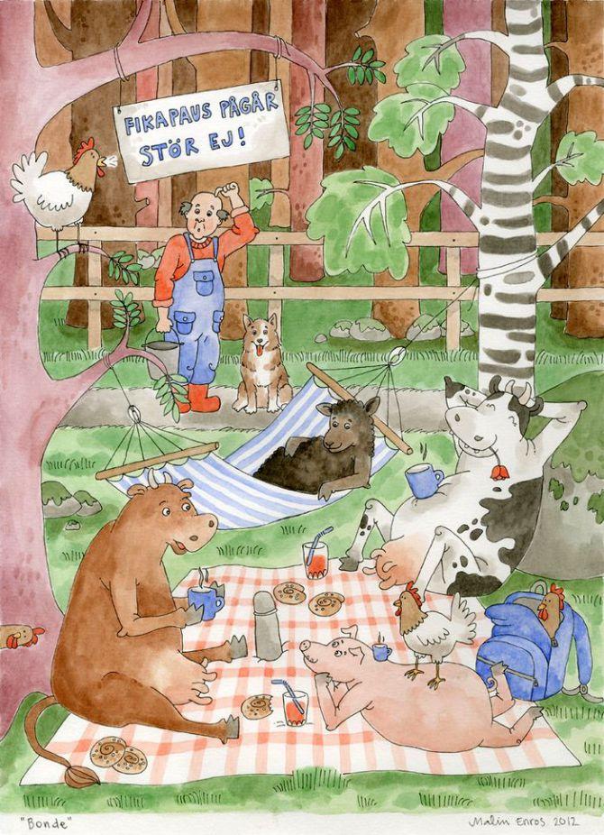 Bonden och hans djur, 2012