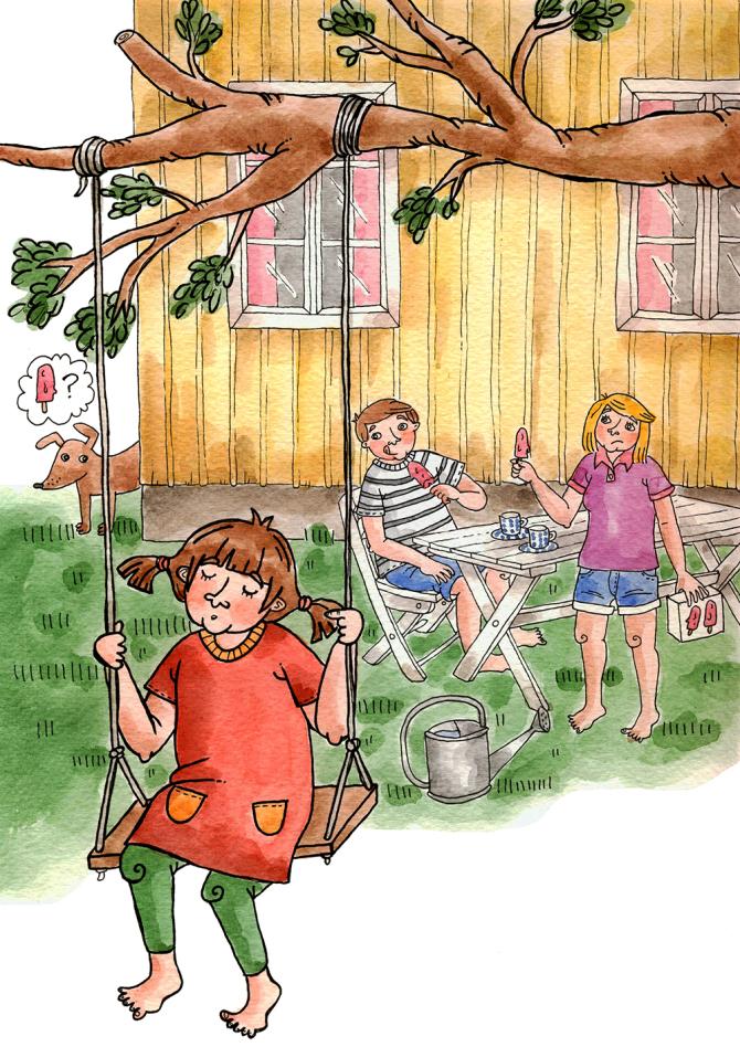 Illustration till manus skrivet av Michael Taevs, 2014