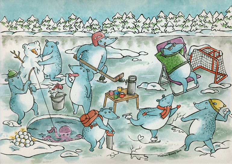 Björnar på is