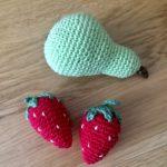 Päron och jordgubbar